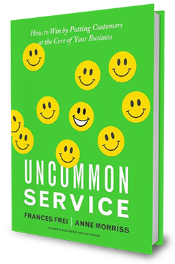 Uncommon Service by Frances Frei and Anne Morriss