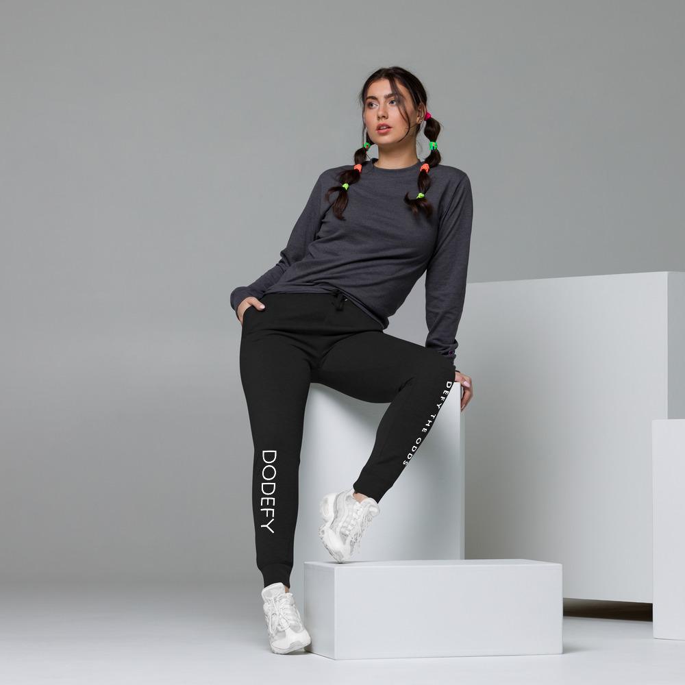 Women's Skinny Joggers Defy The Odds & Back Pocket Logo