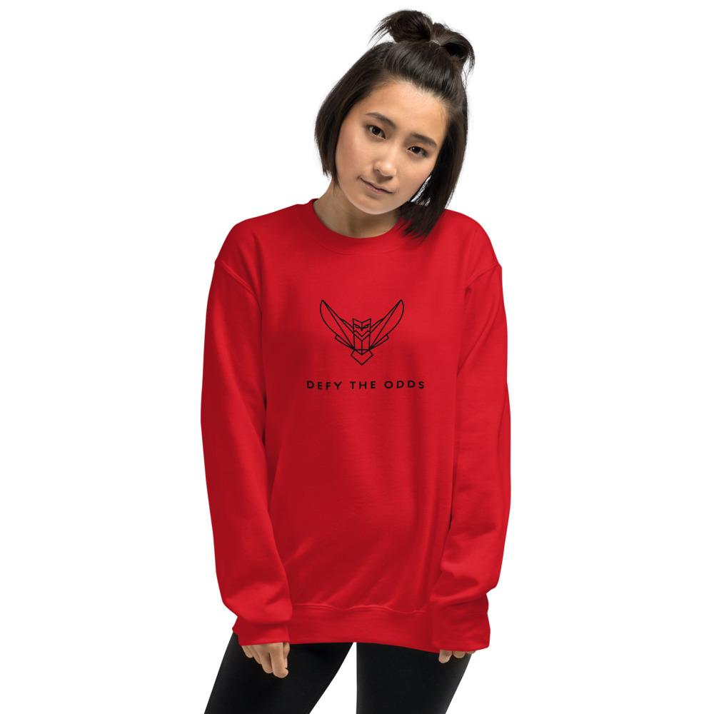 Women's Sweatshirt Black Logo Dodefy