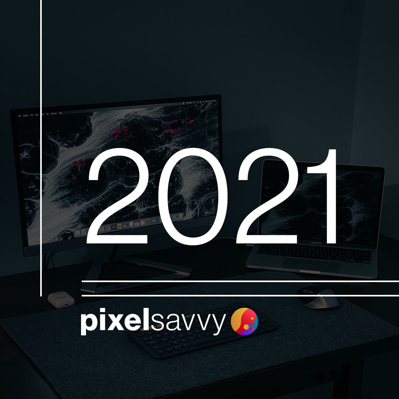 Compilation of examples of six graphic design trends predicted for 2021