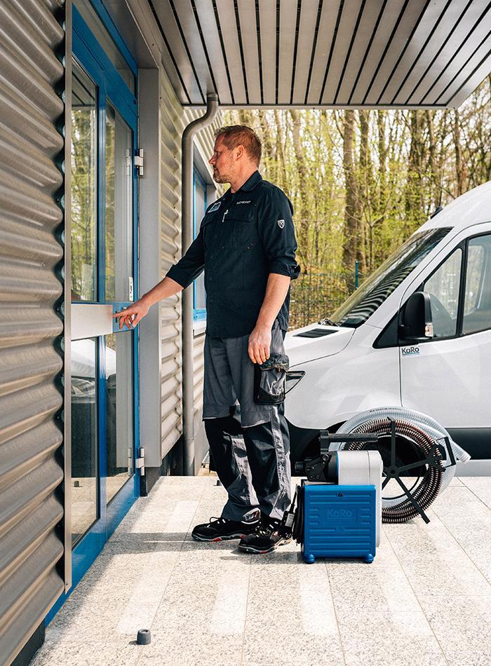 VIKTOR PRO Koffermaschine auf dem Weg zum Kunden