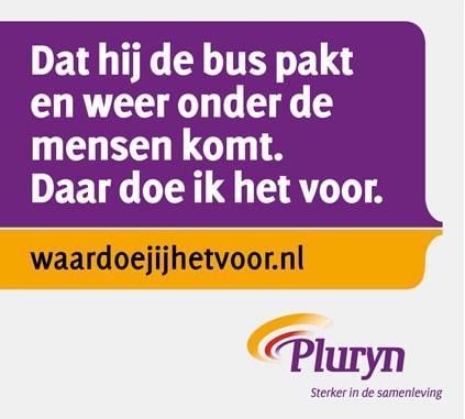Advertentie werving begeleiders binnen employer branding Pluryn
