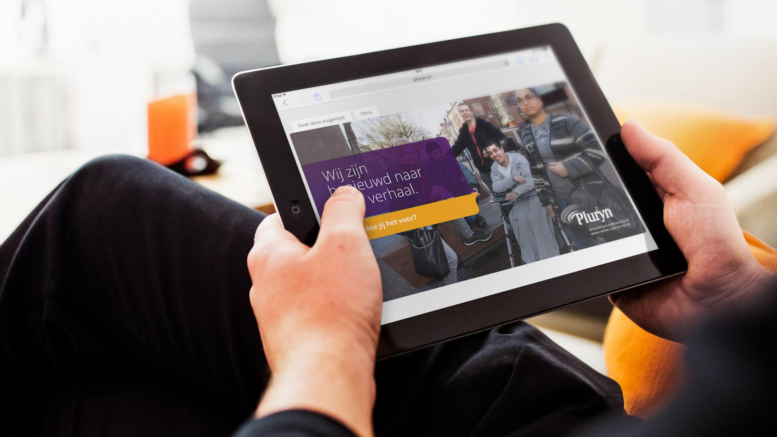 E-match is een online test voor sollicitanten als onderdeel van de werving voor Pluryn