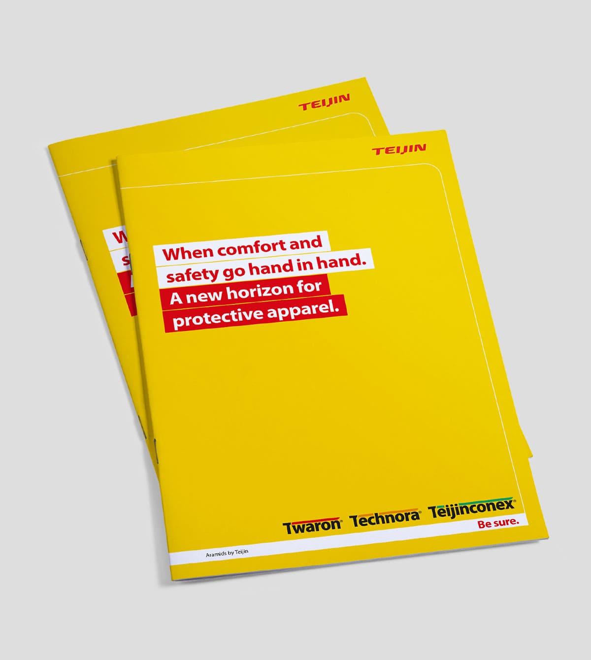 Whitepaper over safety in de vorm van een brochure als onderdeel van de Safety & Life protecion campagne