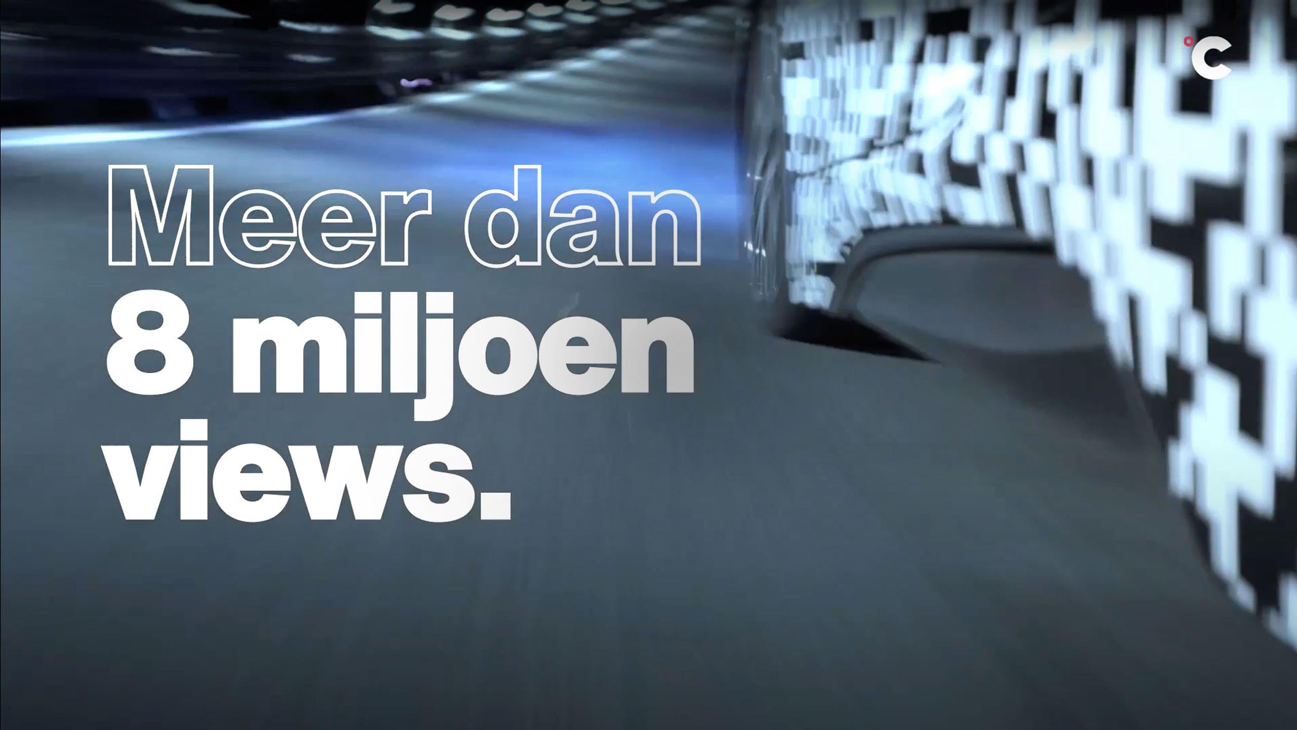 Video met resultaten van het aantal views van de Automotive campagne en Safety & Life protection campagne van Teijin Aramid