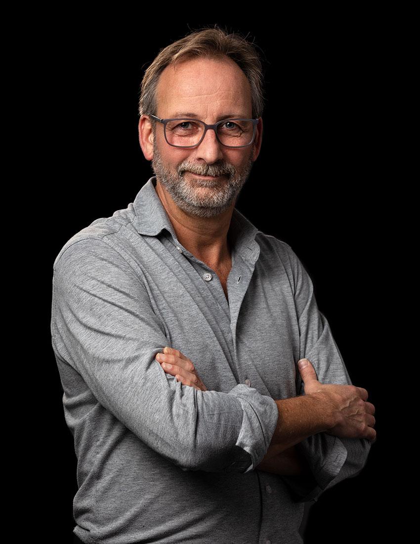 Martin Sol is verantwoordelijk voor creatie en concept bij Coolbrand