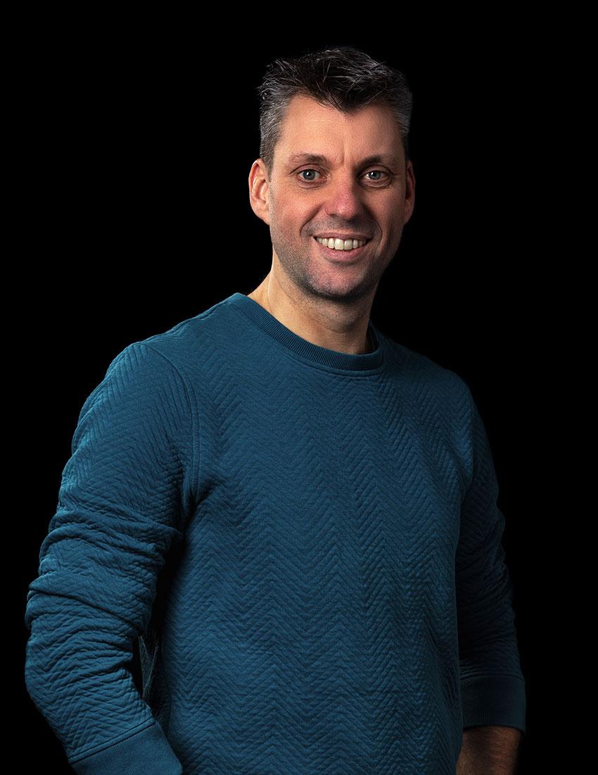Vincent Jansen is verantwoordelijk voor creatie en design bij Coolbrand
