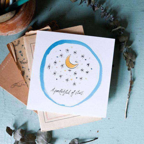 java bere pocketful of stars card