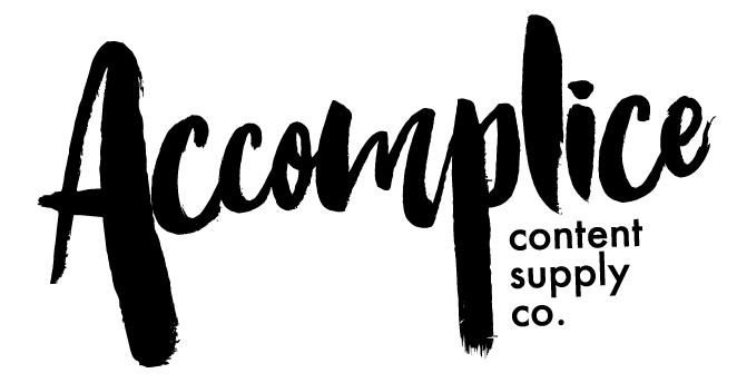 Accomplice Content Supply Co. logo