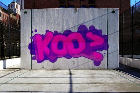 KOOZ GRAFF HANDBALL COURT NYC