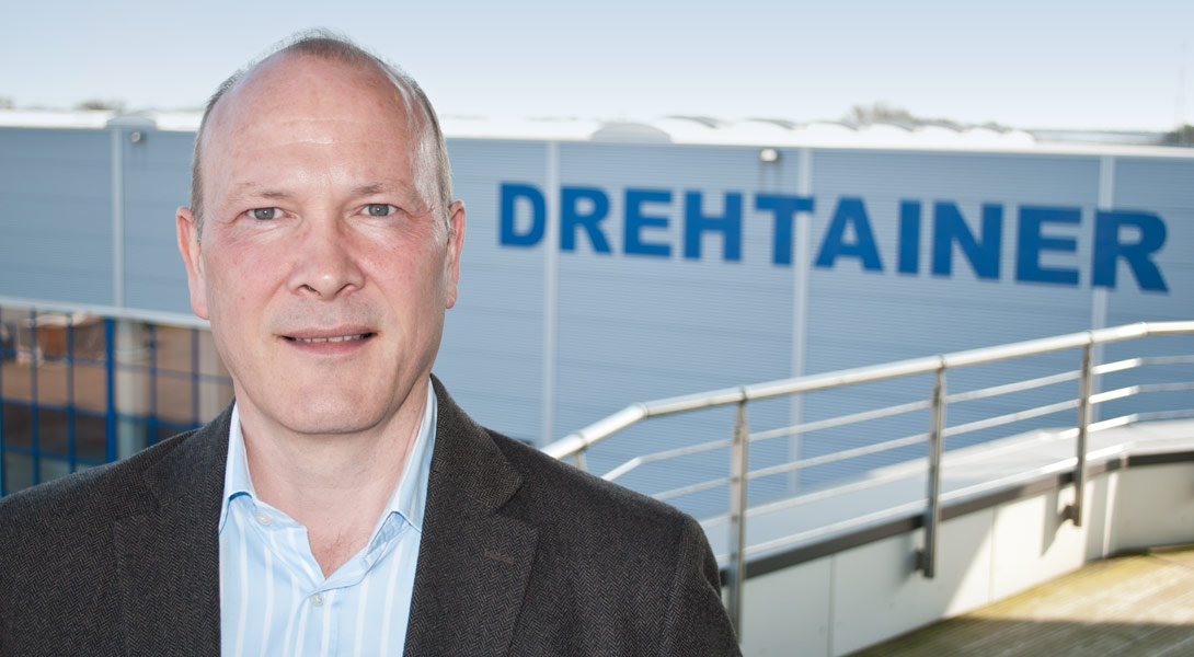 Neuer Geschäftsführer bei DREHTAINER ist Wolf-Rüdiger von Toll