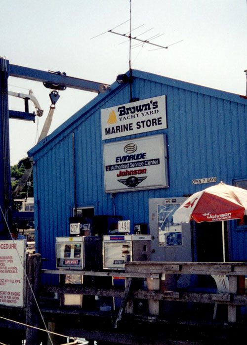Browns Marine Store