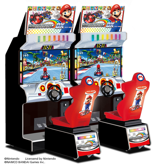 MarioKart Arcade Cabinet