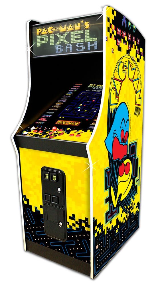 Pixel Bash Coin Cabinet