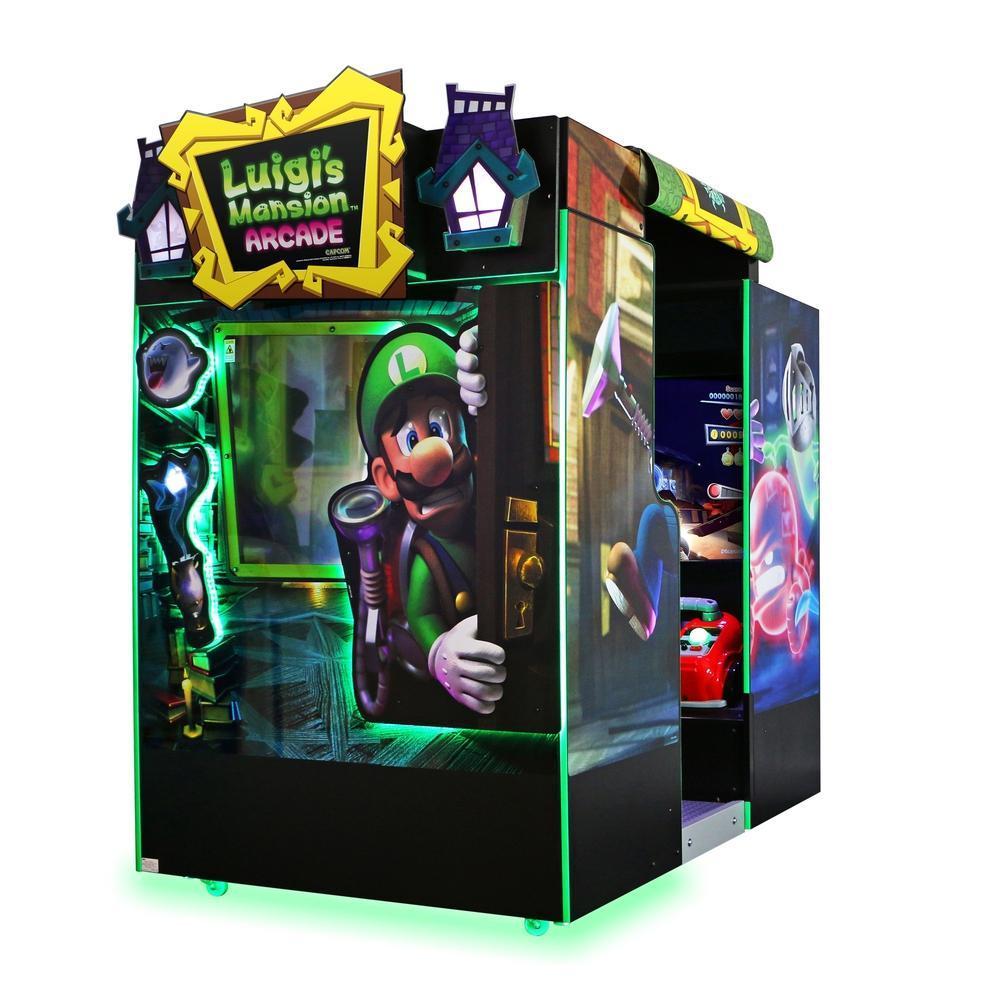 Luigi's Mansion Cabinet