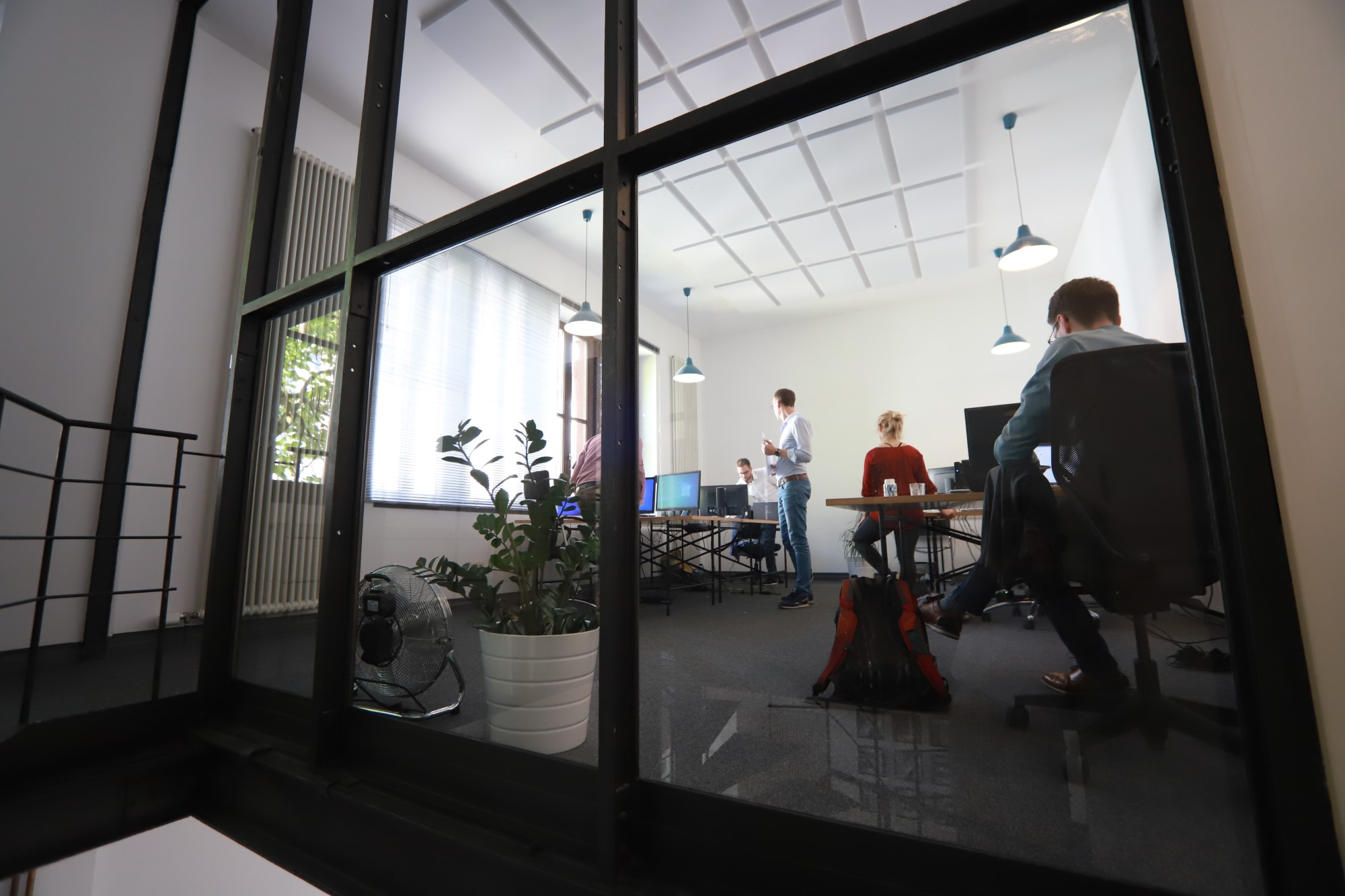 Engineers in a work environment in their office