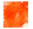 Orange Paint Bullet Point
