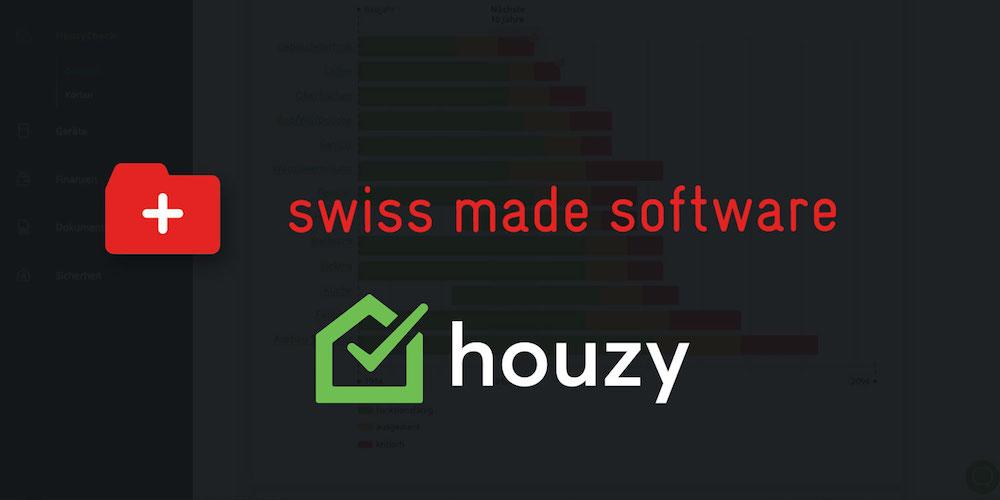 Houzy est membre du swiss made software Labels