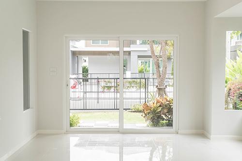 Protection contre le cambriolage porte de la terrasse