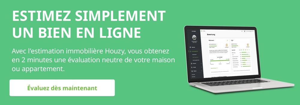 Estimation hédoniste : estimation en ligne avec Houzy