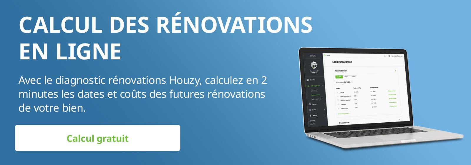 Diagnostic rénovations Houzy - Planifier les rénovations