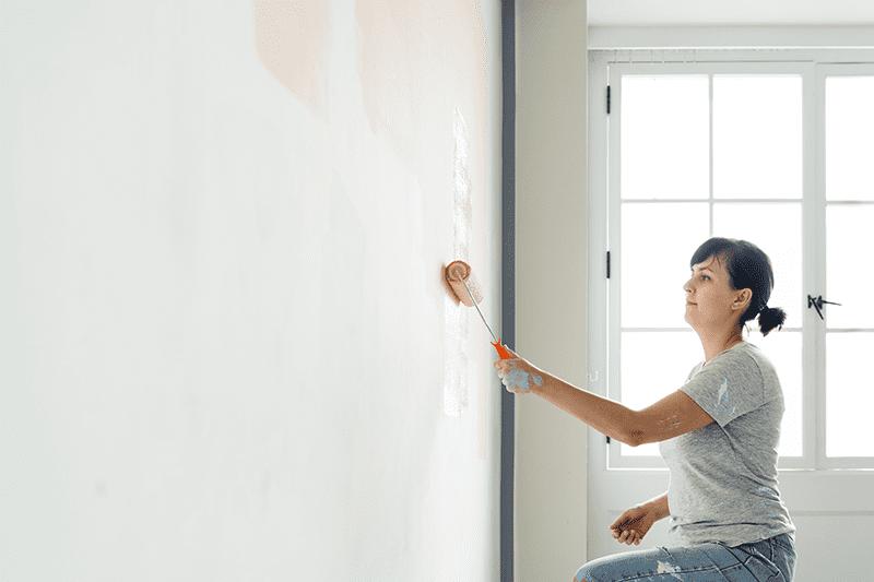 Rénovation d'une vieille maison : Travaux de peinture