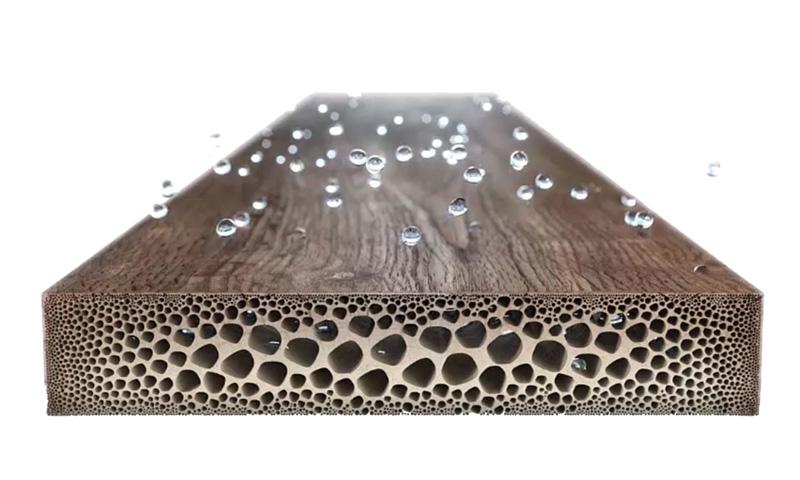 Climat intérieur: Un air trop sec peut endommager le parquet.