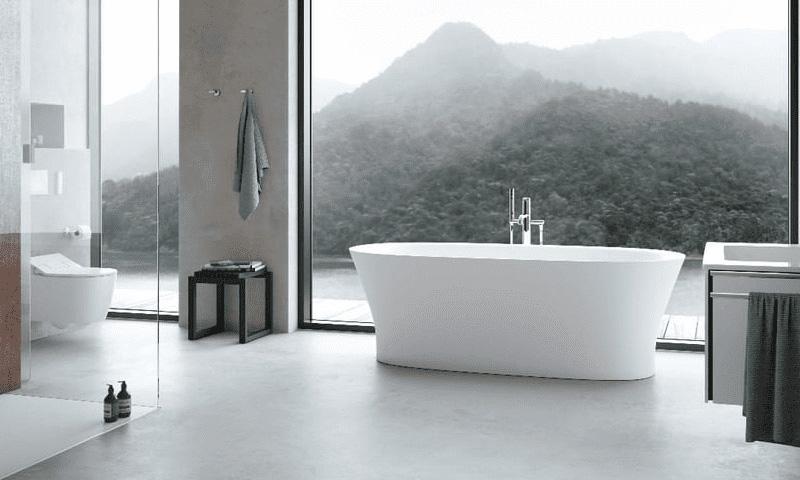 Planification de la salle de bain: Salle de bain moderne
