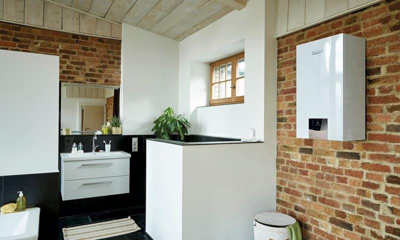 Système de chauffage moderne - pompe à chaleur