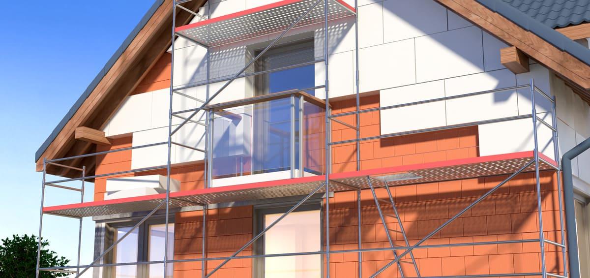 Optimiser l'efficacité énergétique - isoler la façade