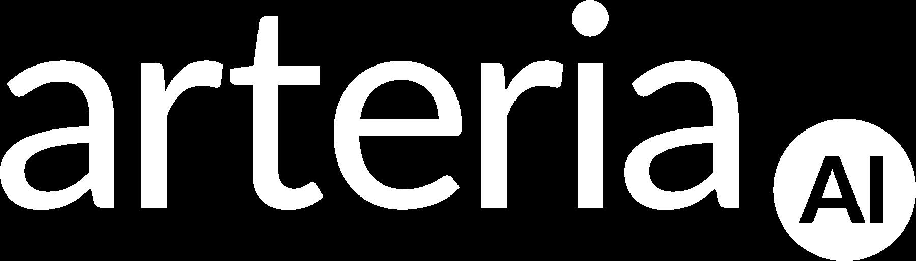 Arteria-white Logo
