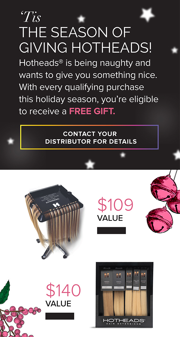 Hotheads holiday promotion