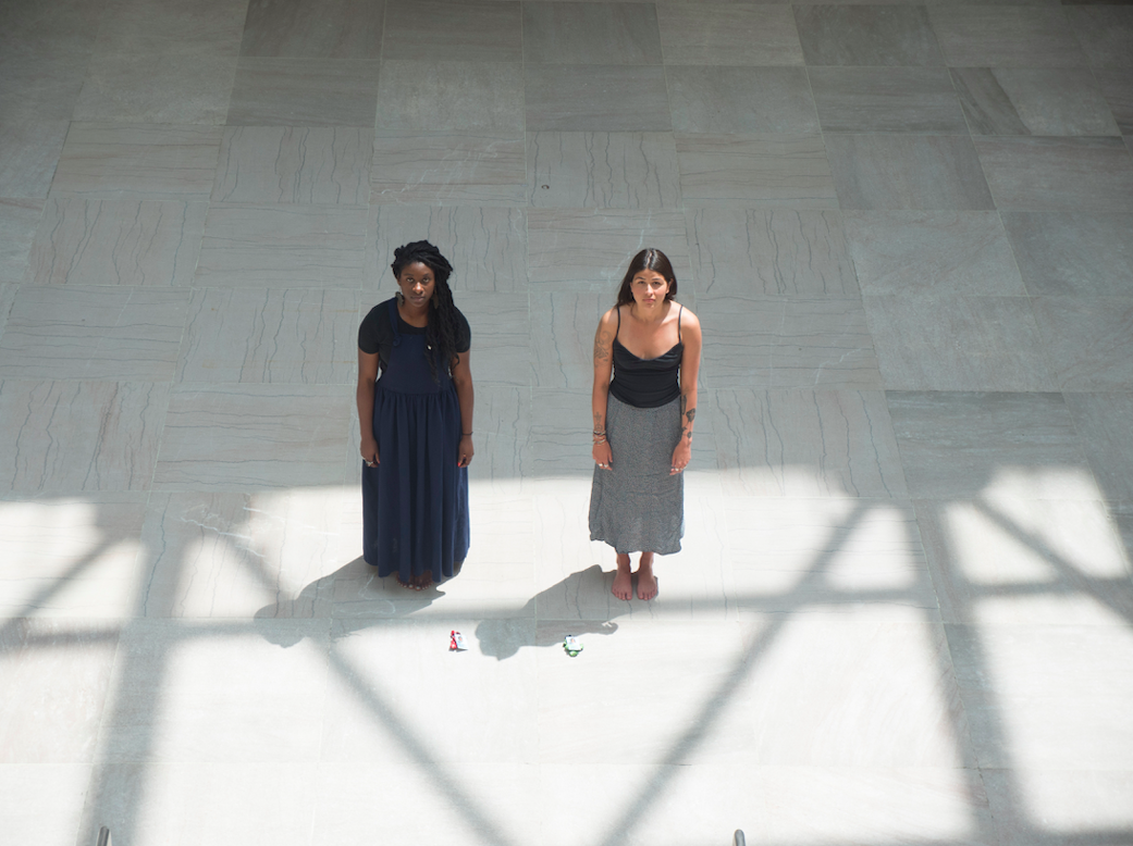 Quill Christie-Peters and Anique Jordan, And yet there are things you cannot take, 2017. Photo credit: Jalani Morgan.