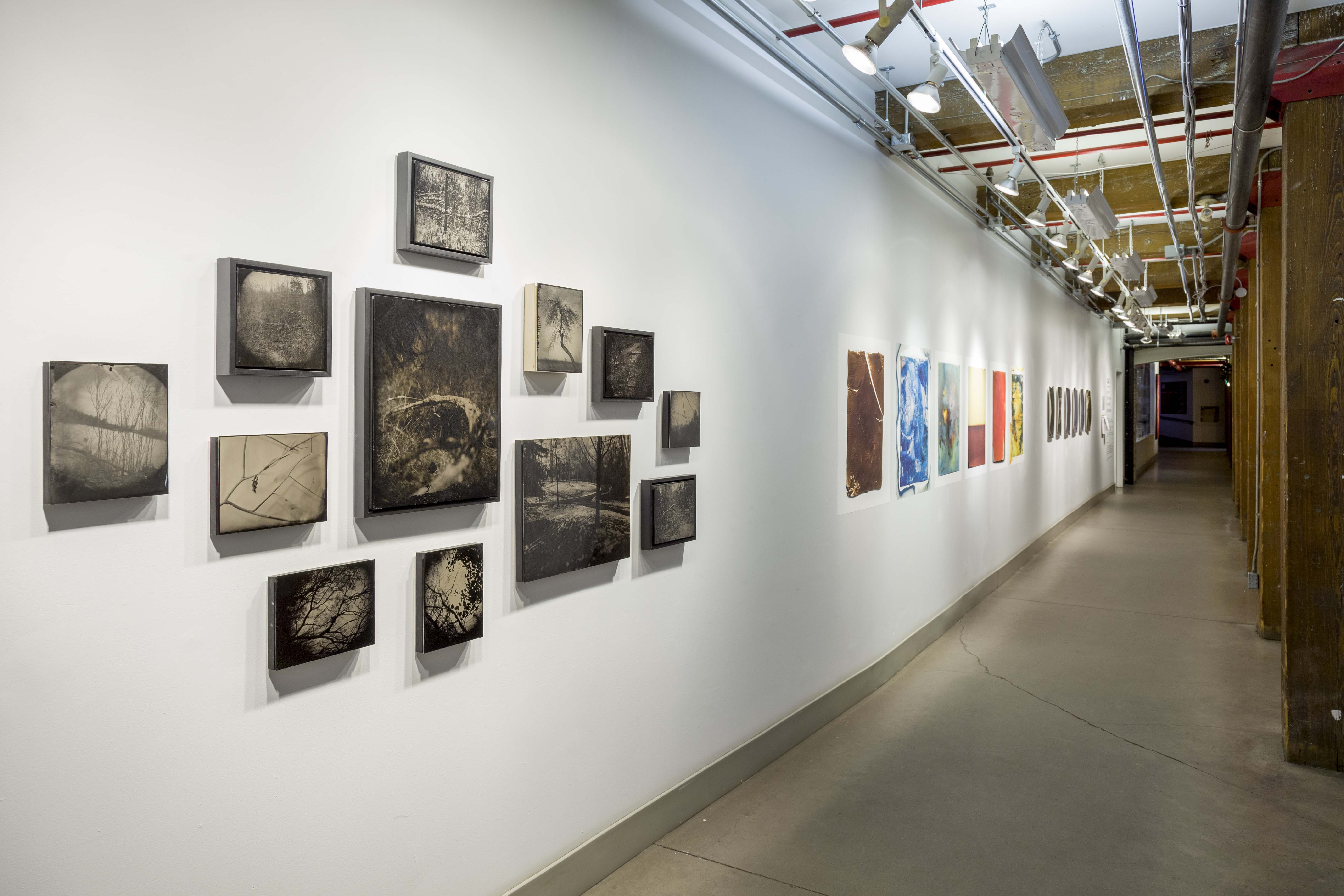 Group exhibition in the G44 production gallery