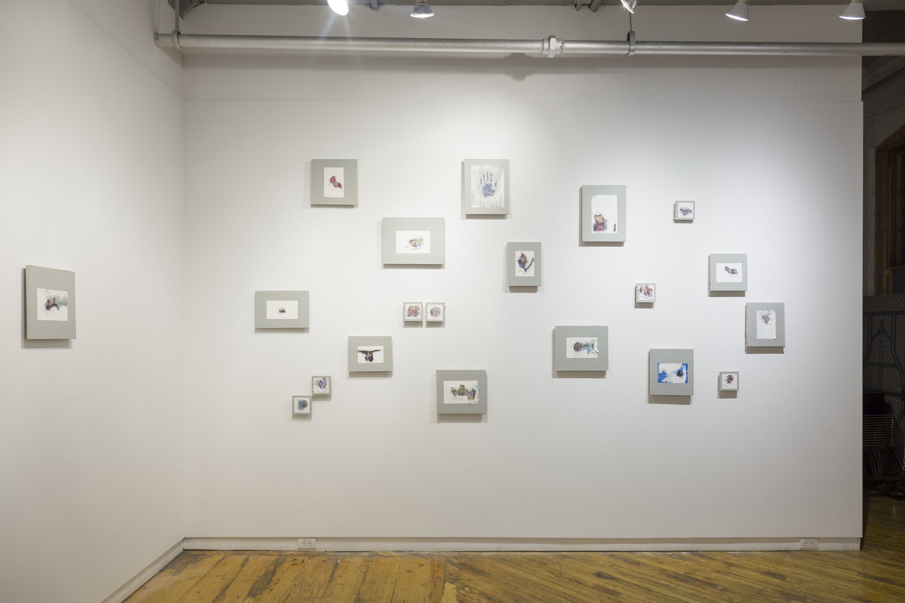 Exhibition documentation in members gallery