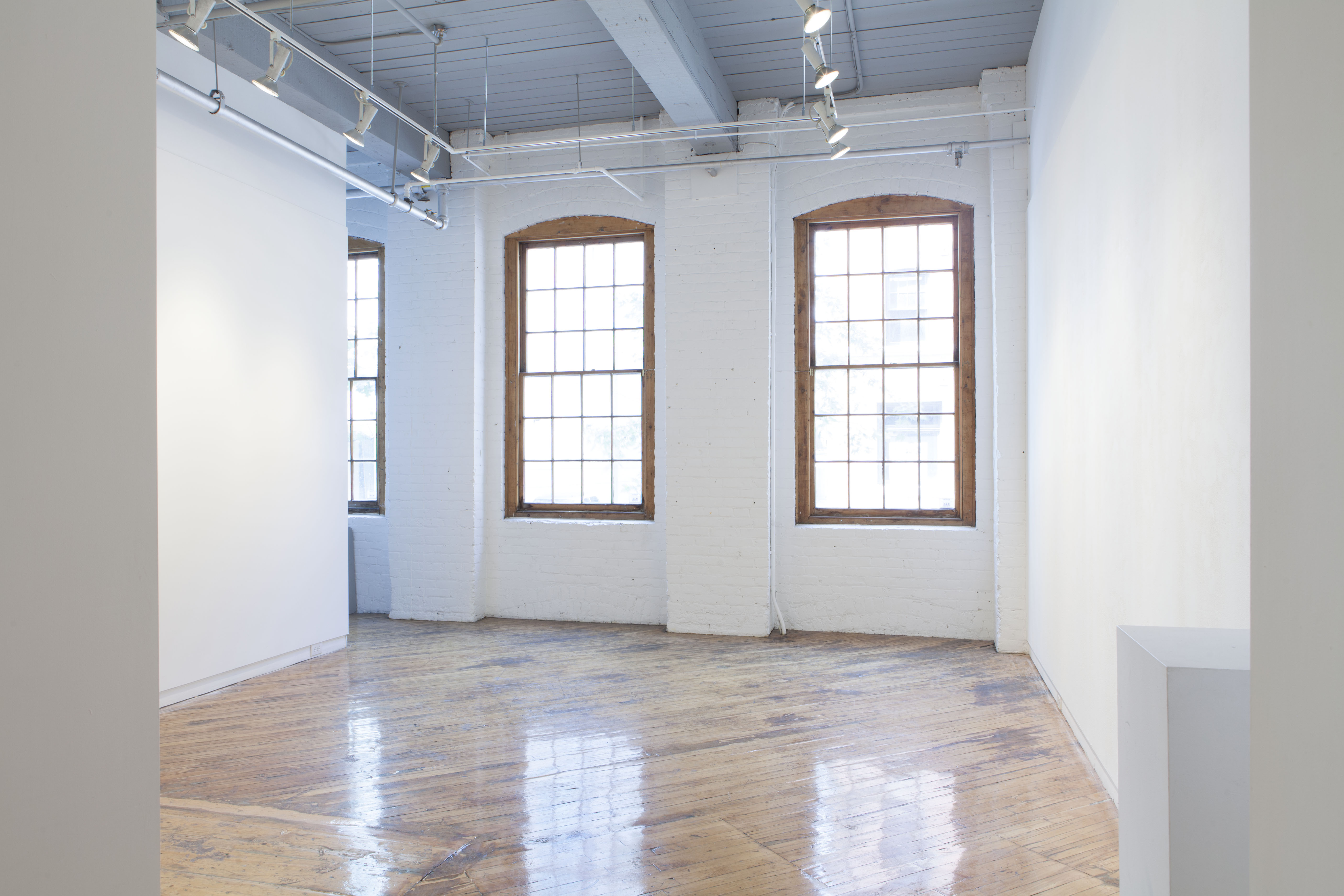 Empty gallery space.