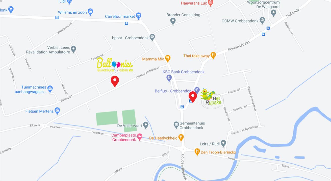 Map van Balloonies