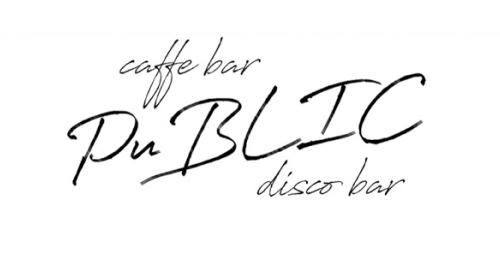 caffe bar public logo
