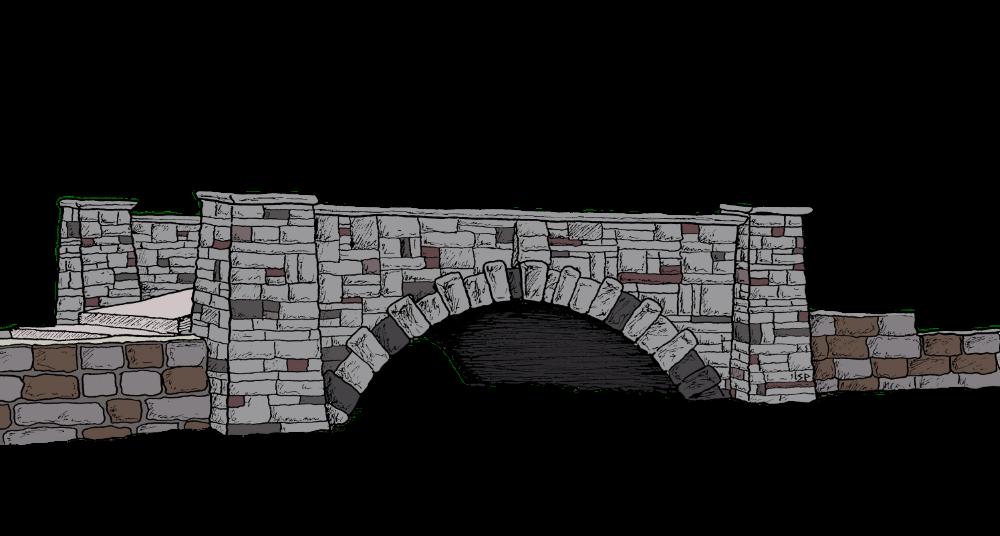 The bridge of Yoctangee.