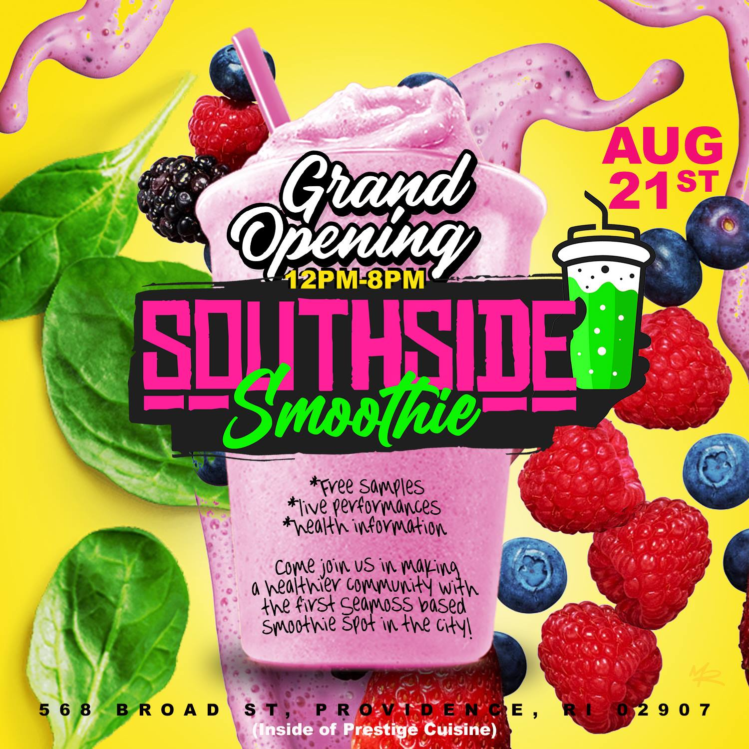 Krook Rock Opens South Side Smoothie