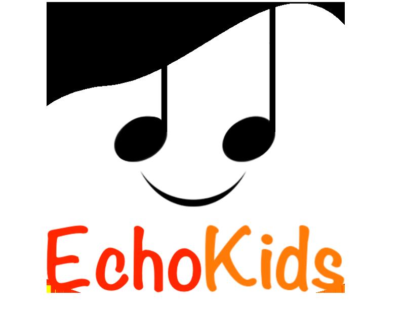 EchoKids logo on a white background