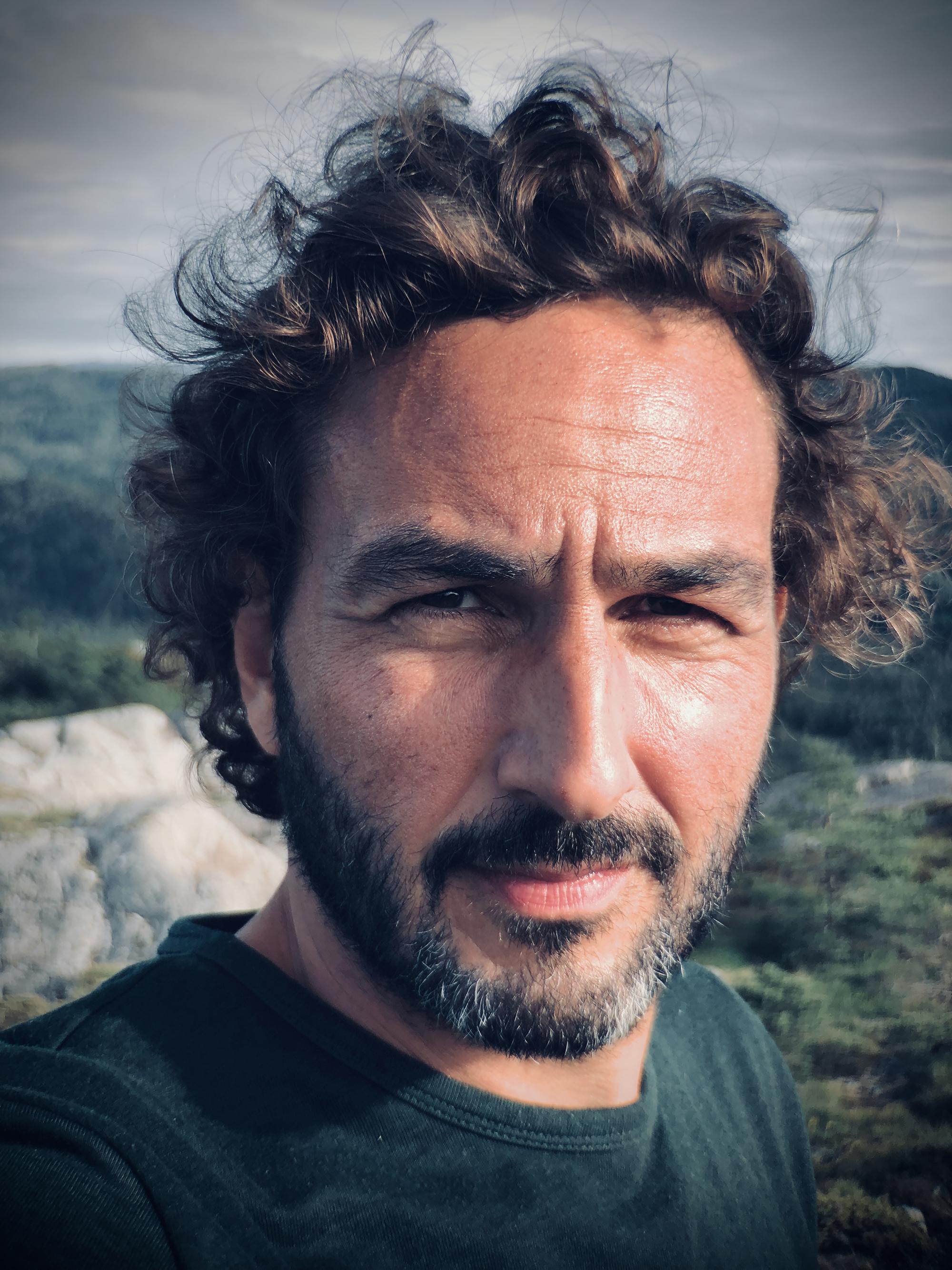 Portrait of Cinematographer Martin Munch