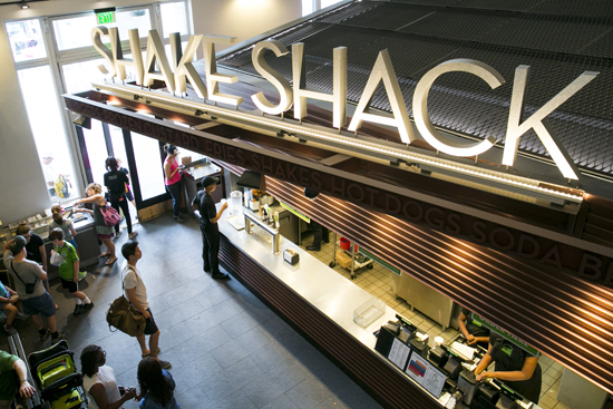 Ardmore's anchor tenant, Shake Shack