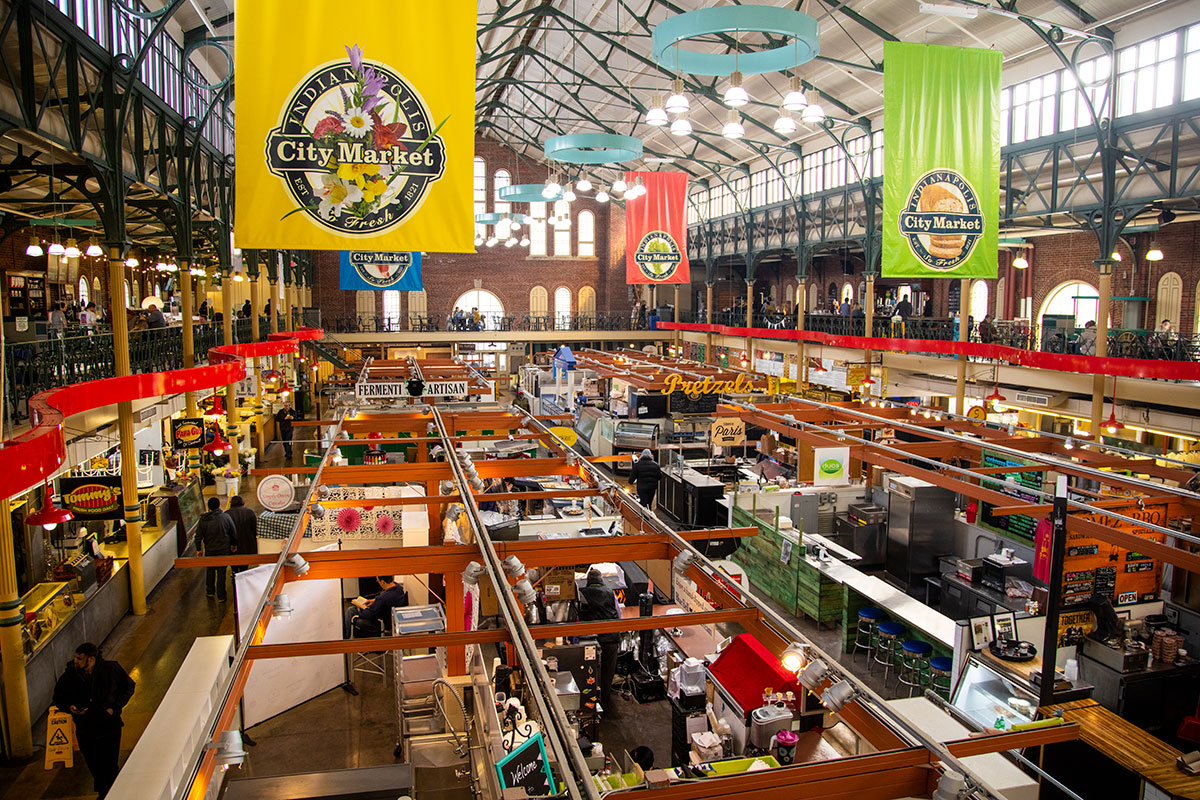 You Can Get a Delicious Taste of Local at Indianapolis City Market
