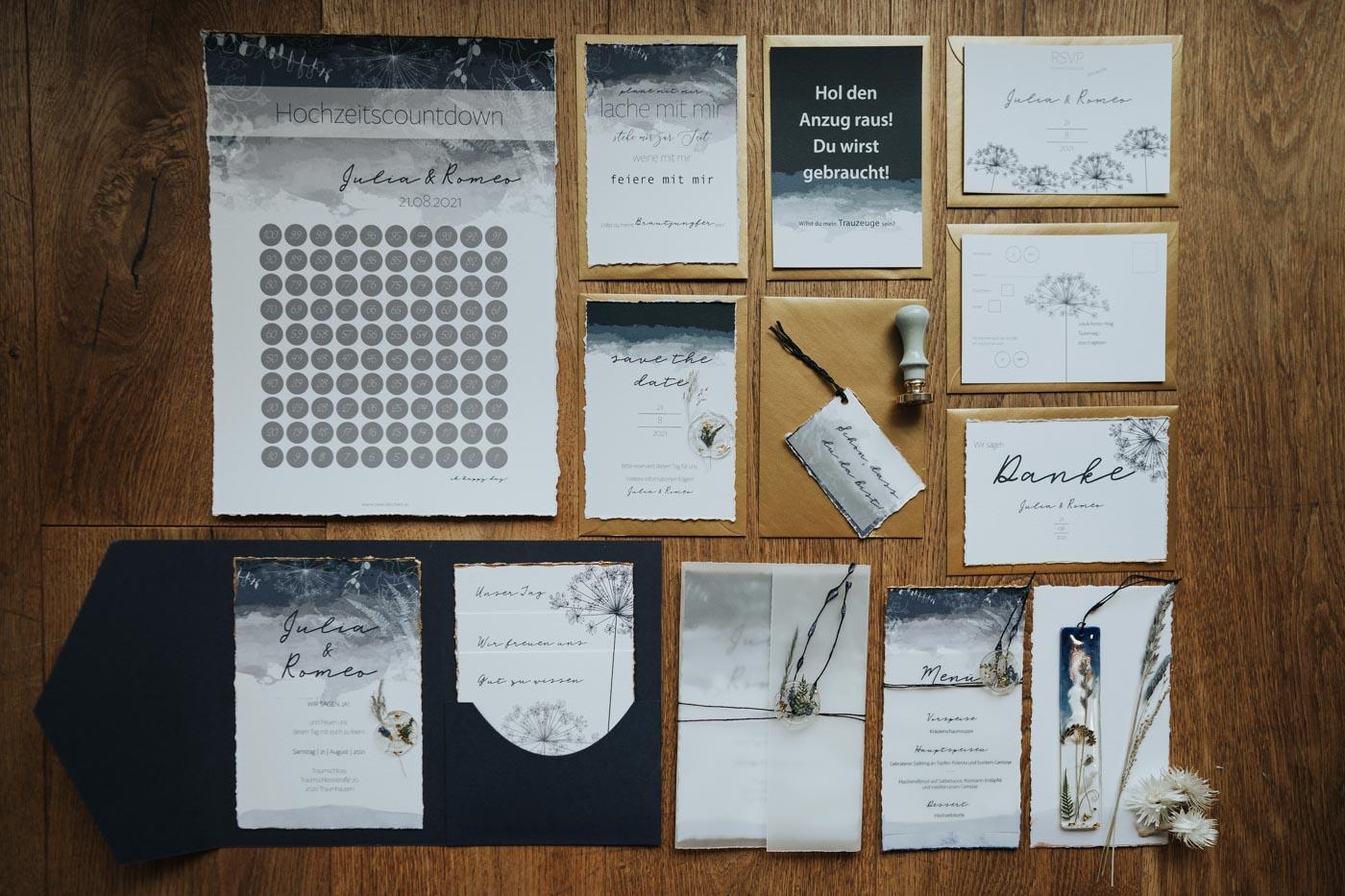 zweizeichen | Hochzeitspapeterie