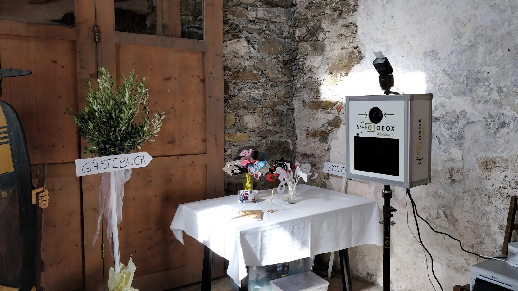 sf-fotobox: Fotobox für eure Hochzeit