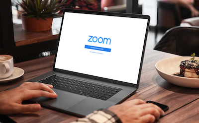 A zoom meeting configuration screen
