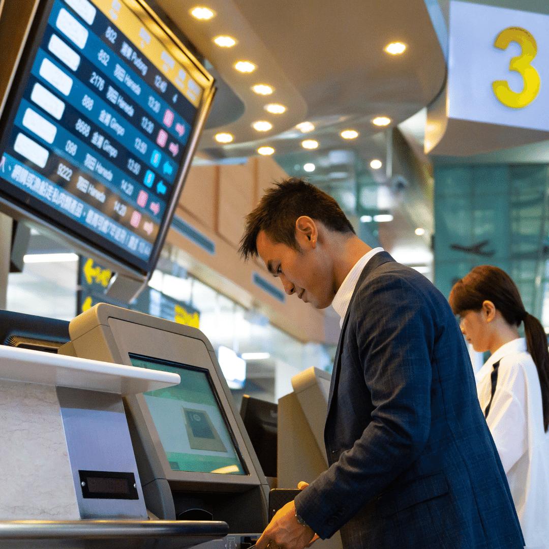 Kiosk touchless technology
