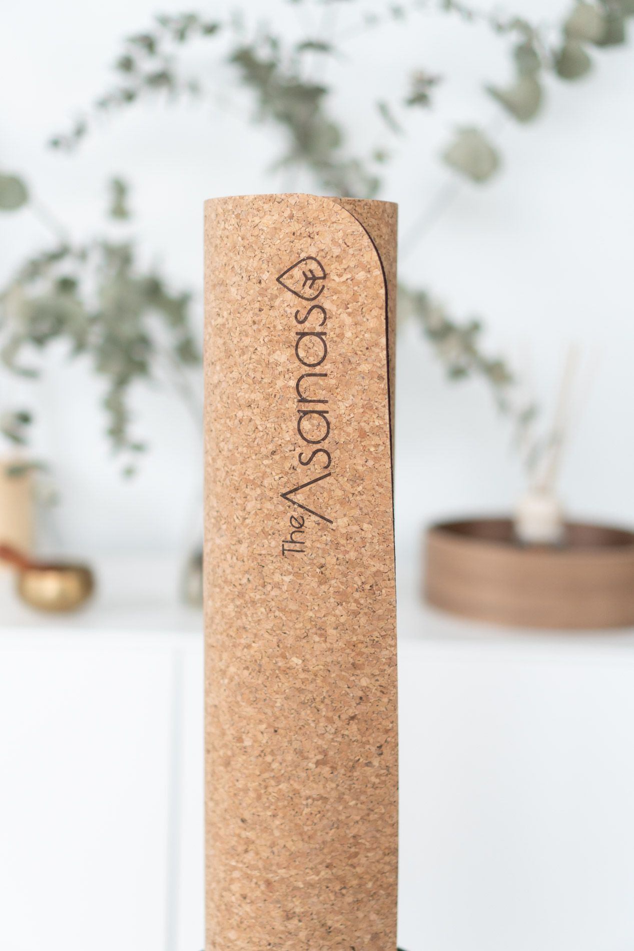 naturlig bærekraftig yogautstyr, kork yogamatte, naturgummi, the asanas, beste yogamatte