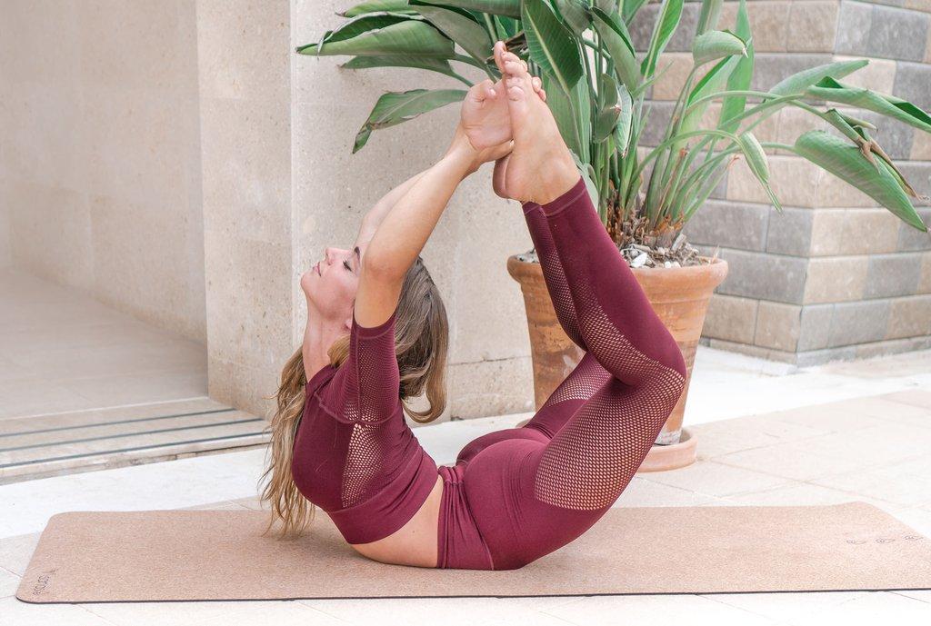 kork yogamatte ull naturlig økovennlig yogautstyr norsk nettbutkk online gratis frakt yogaprodukter